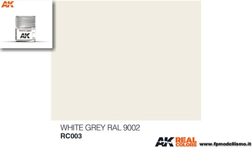 Colore White Grey RAL 9002 RC003 AK 10ml * Euro 2,90 (iva incl.)