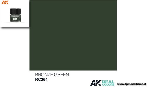 Colore Bronze Green RC264 AK 10ml * Euro 2,90 (iva incl.)