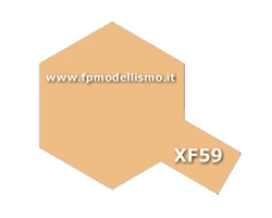 Colore Flat Desert Yellow XF59 Tamiya 10 ml * EURO 2,60 (Iva Incl.) Disponibilit� 4