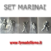 Set Figurini 1 Ufficiale + 4 Marinai in scala da 1:76 a 1:64 Amati * Euro 5,90 (Iva Incl.) Disponibilit� 2 Set