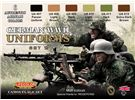 German WWII Uniforms Set 2 CS 05 Lifecolor Set 6 colori per Soldati Tedeschi * EURO 18,50 (Iva Incl.)