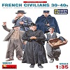 New: French Civilians 30-40s in scala 1/35 MiniArt 38037 * * EURO 14,50 in Kit ** EURO 34,50 Costruito (Iva Incl.)