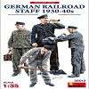 NEW! German Railroad Staff 1930-40s in scala 1/35 MiniArt 38012 * EURO 13,50 in Kit ** EURO 33,50 Costruito (Iva Incl.)