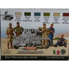 Set 6 Colori CS14 Lifecolor Italian WWII Regio Esercito Uniforms * EURO 18,50 (Iva Incl.)